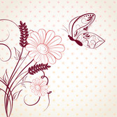 Beautiful free vector backgrounds and patterns element