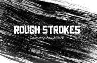 Rough Strokes - Photoshop Brush Pack