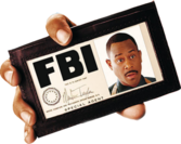 FBI badge PSD