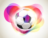 Football Background With