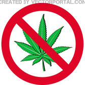 STOP WEED SMOKING VECTOR.eps