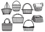Old Basket Set