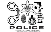 Police Vectors Free Download