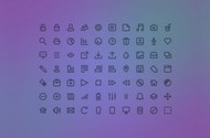 70 Freecons Mini Glyph Icons Pack