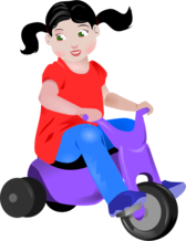 Toddler On Trike
