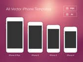Minimal iPhone Templates
