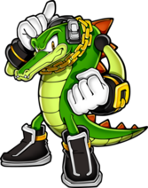 Sonic Vector the Crocodile PSD