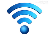 PSD wireless icon