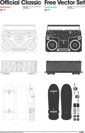 Radio Container Skateboard