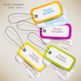 Exquisite creative label sticker vector-6