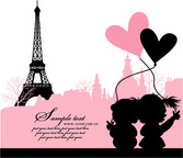 Love in Paris, France
