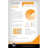 RESUME TEMPLATE VECTOR.ai