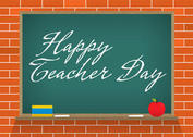 Vector Teacher Day Chalk Board