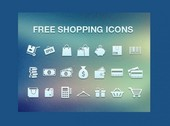 21 Ecommerce and Shopping Icons Set PSD