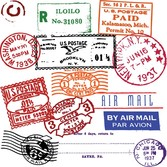 Foreign Stamp Postmark