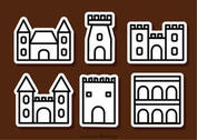 Outline Fort Icons