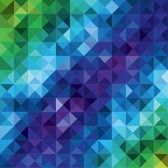 Colorful Mosaic Pattern Abstract Background