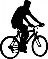 Bicyclist Silhouette
