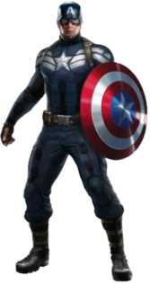 New Captain America PSD