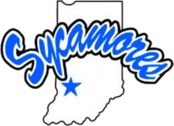 Indiana State logo PSD