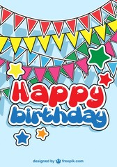 Birthday party baby Card