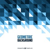 Geometric shapes background