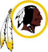 Washington Redskins logo PSD