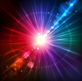 Abstract Solar Light Burst Background