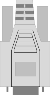 Serial connector DB-9 RS-232