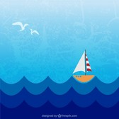 Sea free illustration