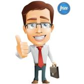 BUSINESSMAN VECTOR CHARACTER.ai