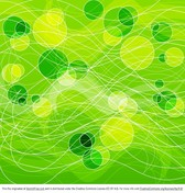 Abstract Green Circles