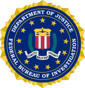 FBI (Bureau of Investigantion) Logo PSD