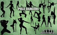 15 Pole danseurs