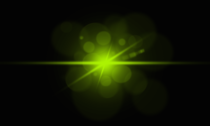 Green Optical Flare PSD