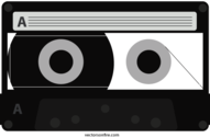 Old Style Cassette Tape