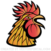 Rooster Vector Art
