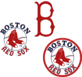 Boston Red Sox Logos PSD