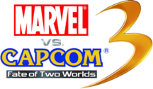 Marvel Vs Capcom 3 : Fate Of 2 Worlds Logo PSD