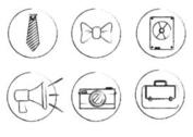 Sketchy Vector Icons
