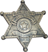 SHERIFF BADGE PSD