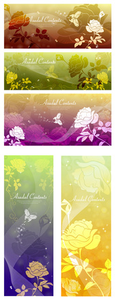 Butterfly Dream Roses Silhouette