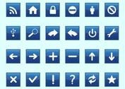Square Technology Icons