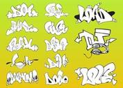 Vector Graffiti Pieces