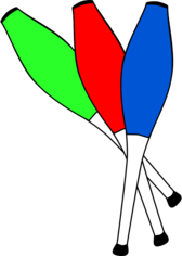clubs juggling