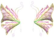 Fairy Flower Wings PSD