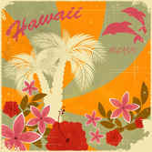 Retro holiday vector background002