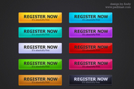 10 Web 2.0 style registration buttons