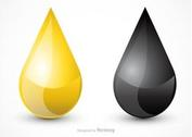 Free Oil Droplet