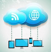 Cloud computing concept in
